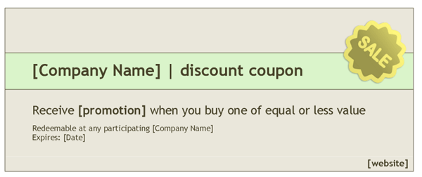 Gift Coupon Template – Gift Coupon Template