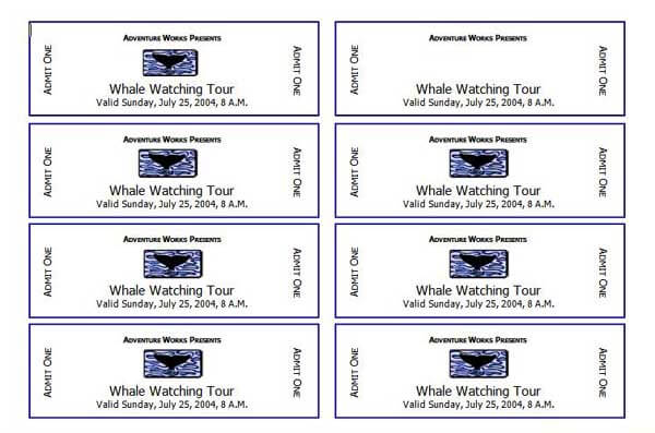 2 Event Ticket Templates – Create Tickets Template
