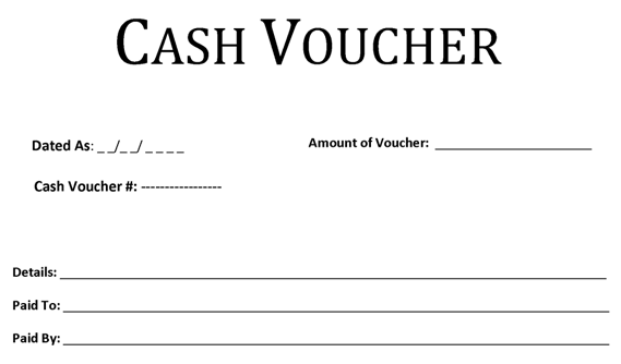Printable Templates  Money Voucher Template